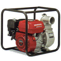 We use a 13-horsepower Honda pump!
